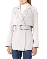 Reiss - Multicolor Vance Trench Jacket - Lyst