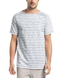 Hanro | Gray Raul Short Sleeve Shirt for Men | Lyst