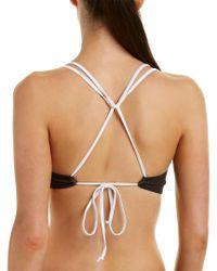 Chaser Black Bikini Top