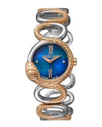 Roberto Cavalli Multicolor Women's Rc-30 Diamond Watch