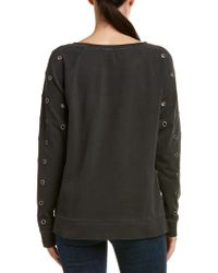 Joe's Jeans Black Izzy Sweatshirt