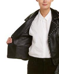 JACK MEETS KATE - Black Moto Jacket - Lyst