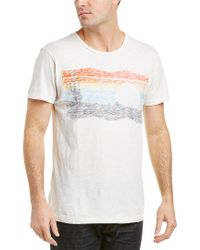 Sol Angeles White Desert Shadow T-shirt for men