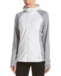 Mountain Hardwear - White Pyxis Stretch Hooded Jacket - Lyst
