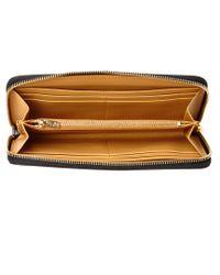 Sophie Hulme Black Rosebery Leather Continental Wallet
