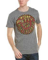 Chaser Gray Tom Petty T-shirt for men