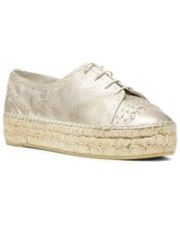 Donald J Pliner Multicolor Toledo Leather Espadrille