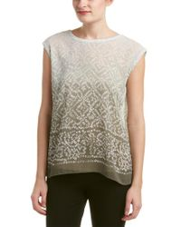 Vince Camuto Green Two By Top