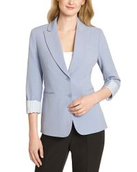 Tahari Blue Jacket
