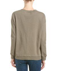 Freeloader Multicolor Plunging Sweatshirt