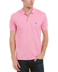 Brooks Brothers Pink 1818 Performance Regent Fit Polo for men