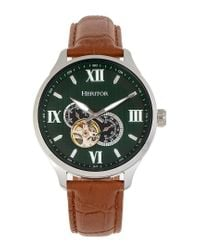 Heritor Harding Automatic Green Dial Mens Watch for men