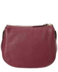 Kate Spade Purple Hopkins Street Alannis Leather Crossbody