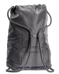 Under Armour Blue Ozsee Logo-print Sackpack for men