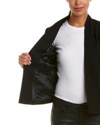 Reiss Black Sancia Jacket