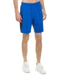 Reebok Blue Us Perf Woven Short for men