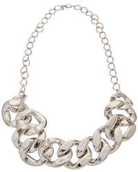 Kenneth Jay Lane - Metallic Plated 34in Necklace - Lyst