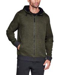 Under Armour Green Sportstyle Sweaterfleece for men