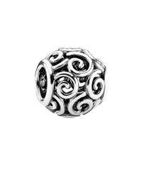 Pandora - Metallic Silver Ocean Breeze Charm - Lyst
