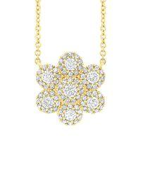 Diana M - Metallic . Fine Jewelry 14k 0.47 Ct. Tw. Diamond Necklace - Lyst