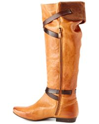 "Eric Michael - Brown """"""""tuscany"""""""" Leather Boot - Lyst"