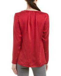 Ecru - Red Silk Blouse - Lyst