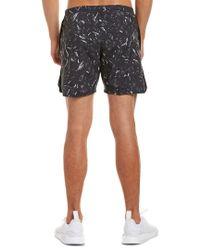 Nike - Black Flex Distance Printed 7in Short for Men - Lyst