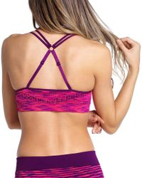 Climawear Multicolor Know Your Angles Bra