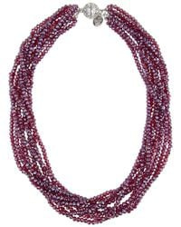 Saachi - Multicolor Glass Beaded Necklace - Lyst