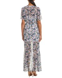 BCBGeneration White High-low Maxi Dress