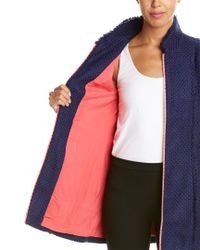 Sail To Sable Blue Wool-blend Jacket