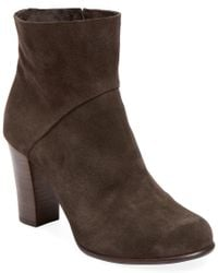 Coclico - Brown Bailey Leather Bootie - Lyst