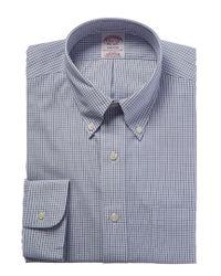 Brooks Brothers Blue Madison Fit Dress Shirt for men