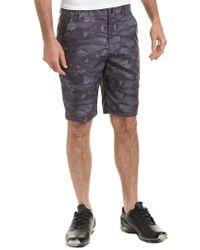 PUMA Gray Tailored Flagstick Camo Short for men