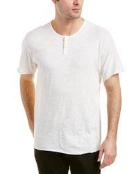 Joe's Jeans - White Engineered Henley for Men - Lyst