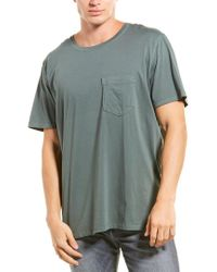 Billy Reid Gray Washed T-shirt for men