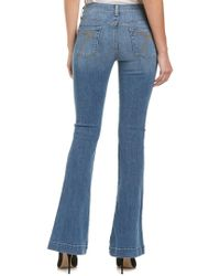 7 For All Mankind Blue 7 For All Mankind Swan River Slim Flare Leg
