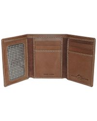 Buxton Brown Expedition Heritage Rfid Leather Three-fold for men