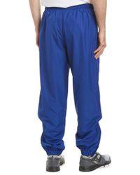 Lacoste Blue Sport Taffeta Pant for men