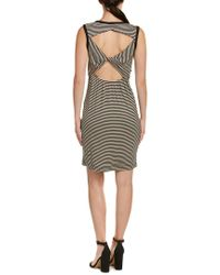 Splendid - Black Knotted Back Tank Dress - Lyst