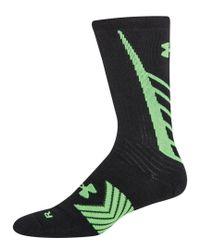 Under Armour Black Men's Undeniable Crew Socks for men