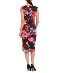 Cece by Cynthia Steffe Black Sheath Dress
