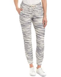 Sol Angeles Gray French Terry Jogger