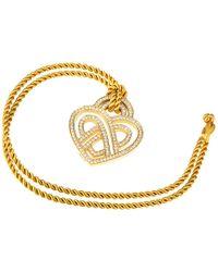 Poiray Metallic 18k 0.68 Ct. Tw. Diamond Toggle Necklace