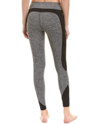 Koral Gray Activewear Curve Mid-rise Crop
