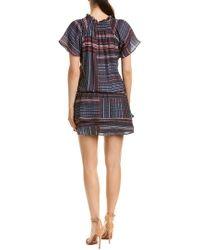 Parker Black Smocked Drop-waist Dress