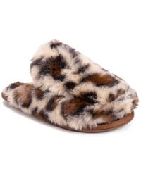 Muk Luks Brown Capucine Slipper