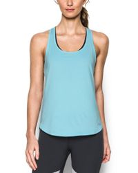 Under Armour Blue Women's Fly-by Tank