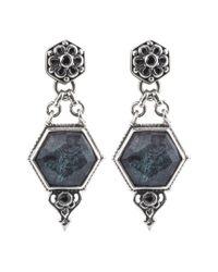 Konstantino Multicolor Santorini Silver Gemstone Earrings