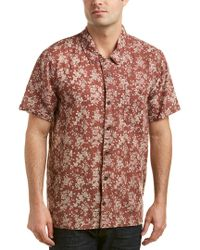 Blank NYC - Red Linen-blend Woven Shirt for Men - Lyst